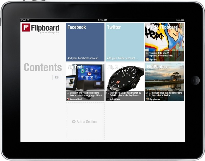 acquisition, cnn, flipboard, news reader