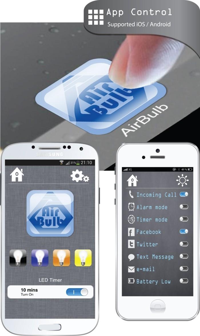 airbulb speaker kickstarter lightbulb