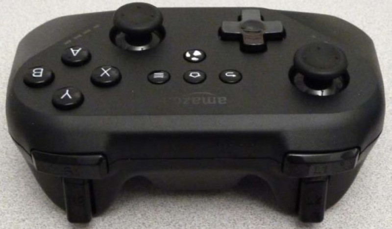 leaked amazon android bluetooth gamepad set-top box gaming controller