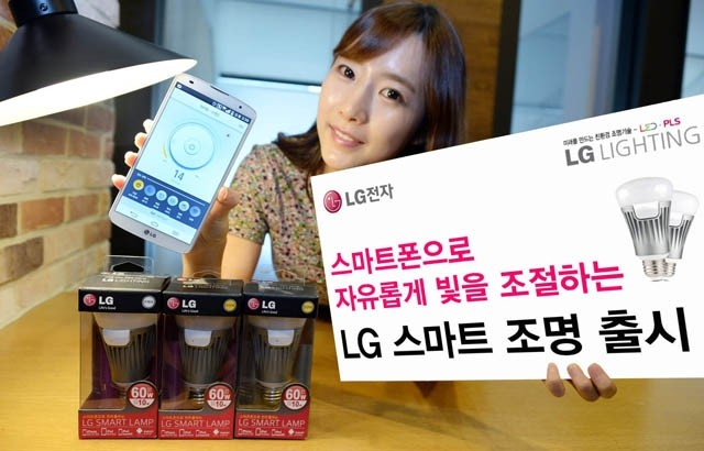 lg lightbulb smart light bulb