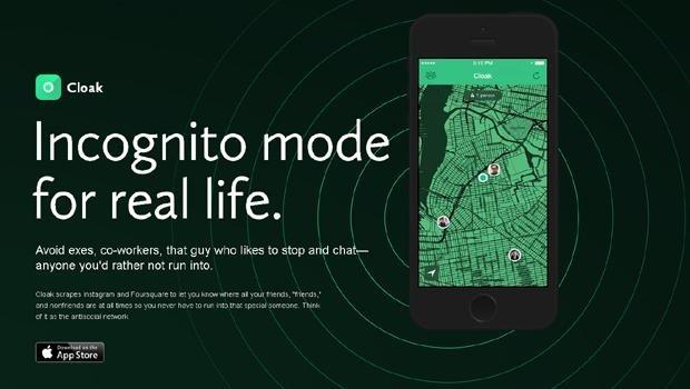 cloak iphone app