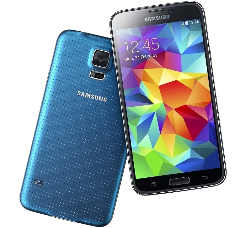 galaxy s5 samsung smartphone display