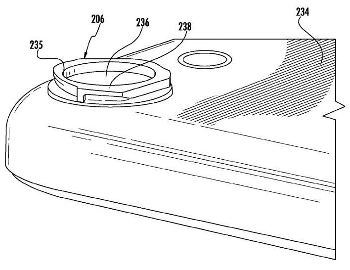 apple iphone camera patent lens interchangeable camera lens