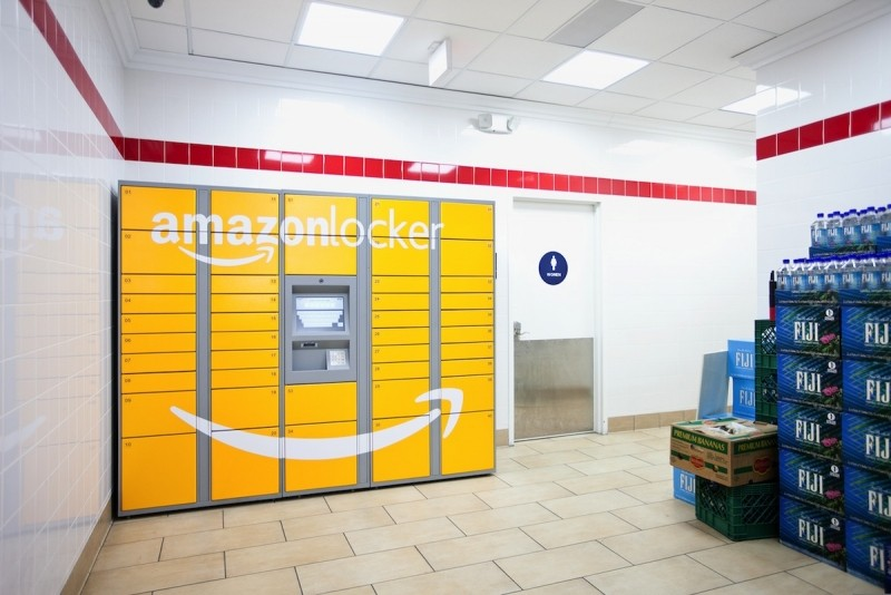 google, amazon, ups, locker, returns, online retailers