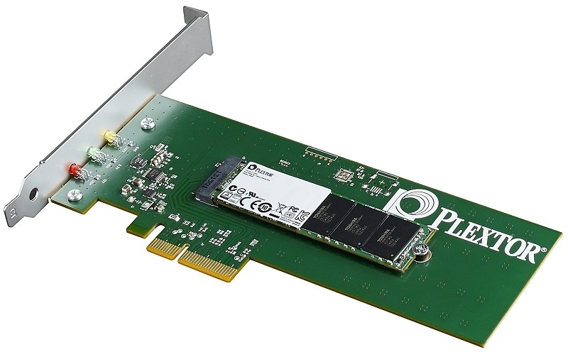Plextor M6e PCIe solid state drive available in 128GB ...