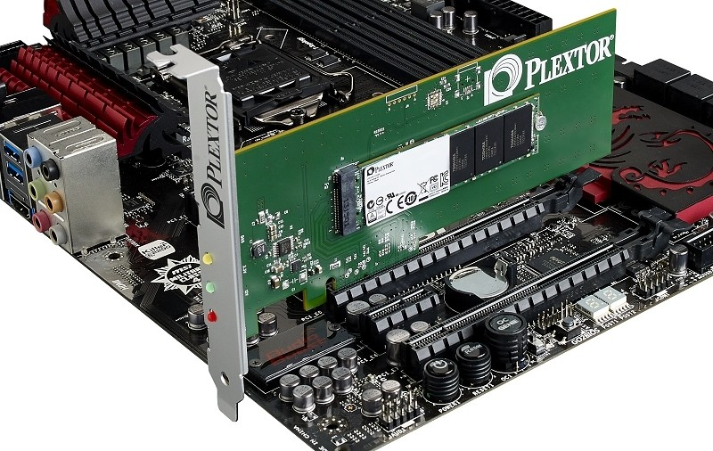 plextor announces worldwide release m6e pci express ssd gamers ssd plextor m6e pci express