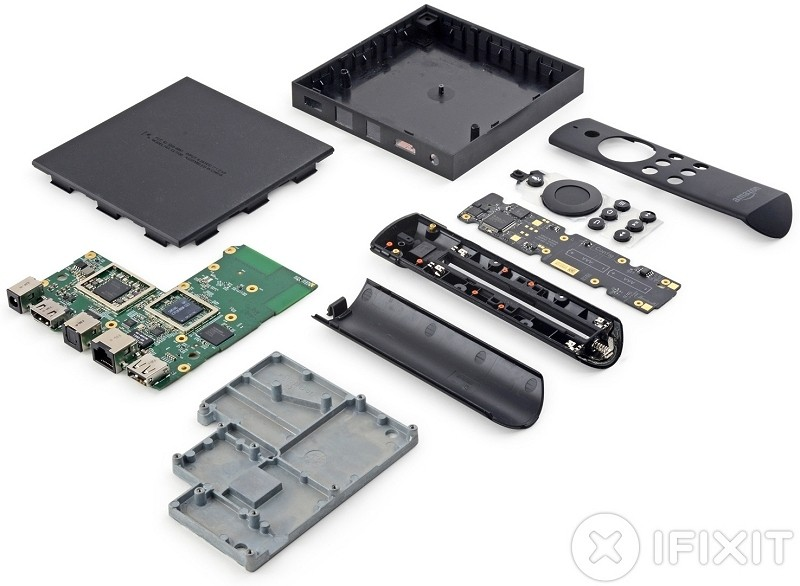 amazon, teardown, ifixit, set-top box, fire tv