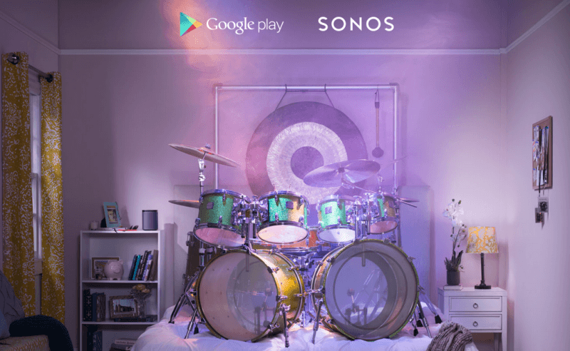 google, android, spotify, streaming, sonos, pandora