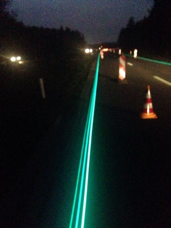glow---dark netherlands glow in the dark roads streets