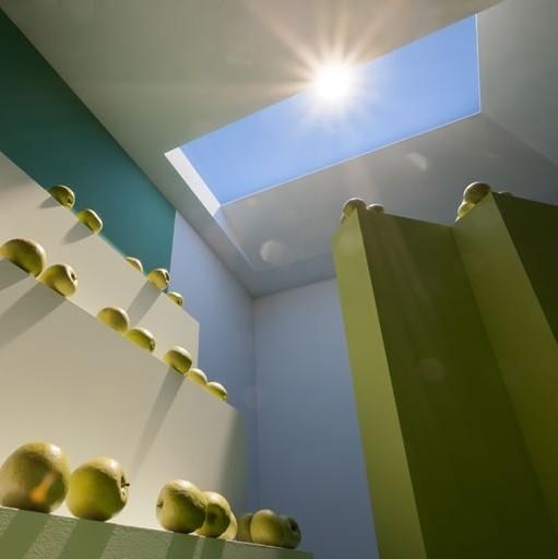led daylight led panel nanoparticles