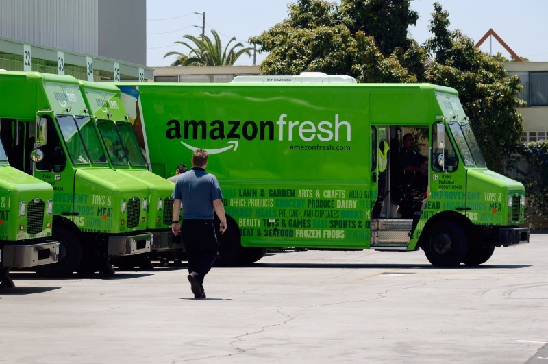 amazon, fedex, ups, amazon fresh