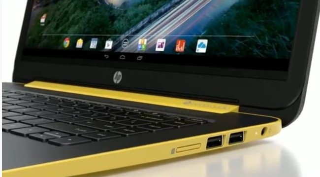 android laptop hp