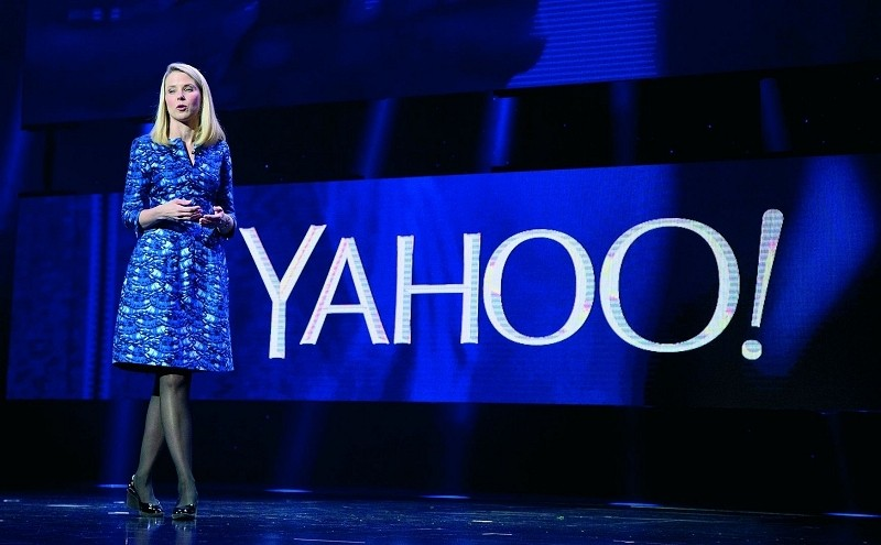 yahoo, acquisition, marissa mayer, snapchat, blink, messaging app, self-destructing