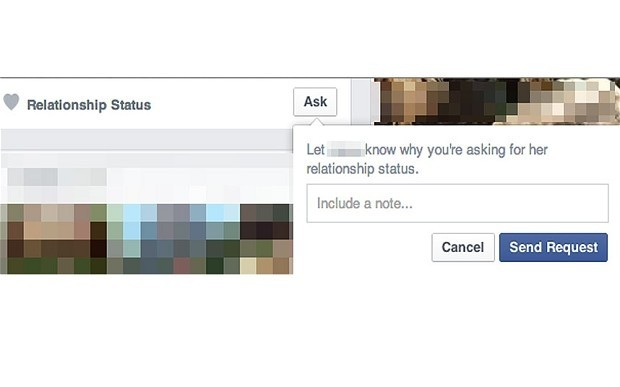 facebook ask button