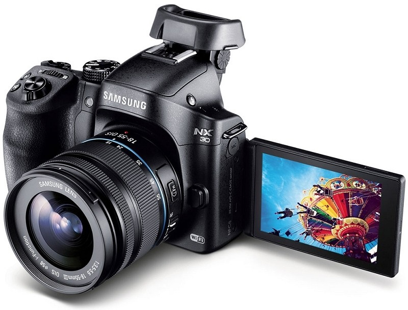 samsung, camera, digital camera, dslr, mirrorless camera, nx30