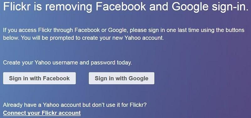 google, yahoo, facebook, flickr, login, marissa mayer