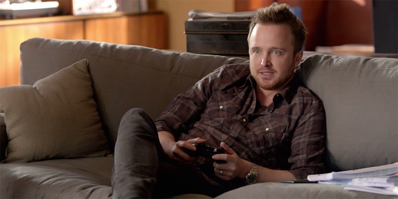 microsoft, kinect, advertising, commercial, aaron paul, xbox one, voice commands