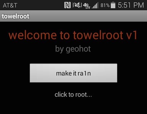 hacker geohot towelroot android galaxy s5 geohot root access