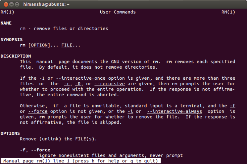 how to use linux commands