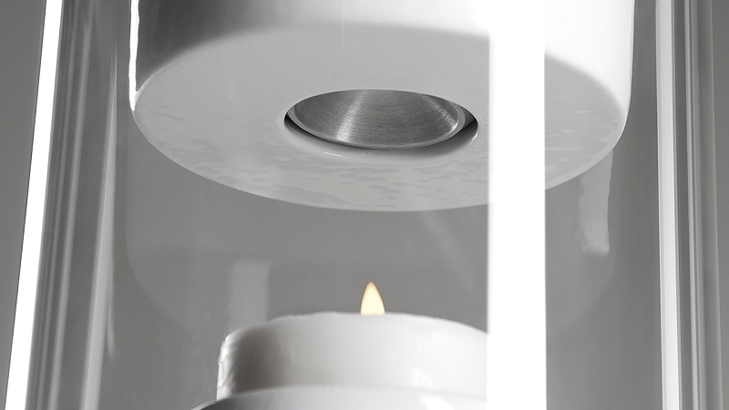 pelty candle-powered speaker runs fire speaker indiegogo bluetooth speaker peltier