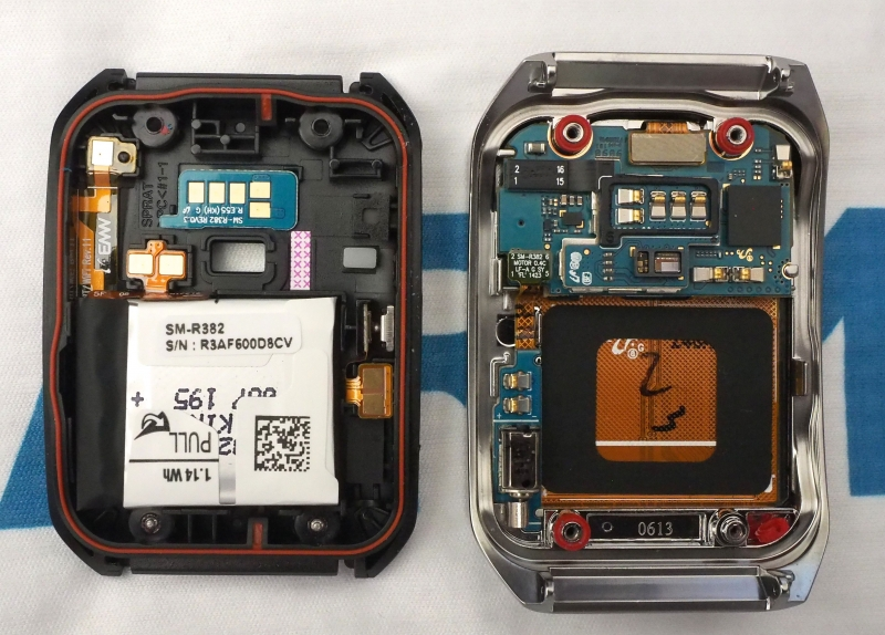 teardown android wear android watch smartwatch lg g watch gear live samsung gear live g watch