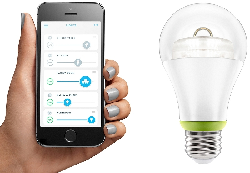 light bulb, home depot, ge, smart bulb