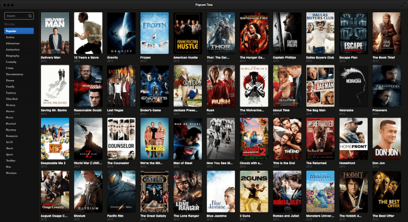 windows, netflix, linux, mac os x, chromecast, popcorn time, time4popcorn