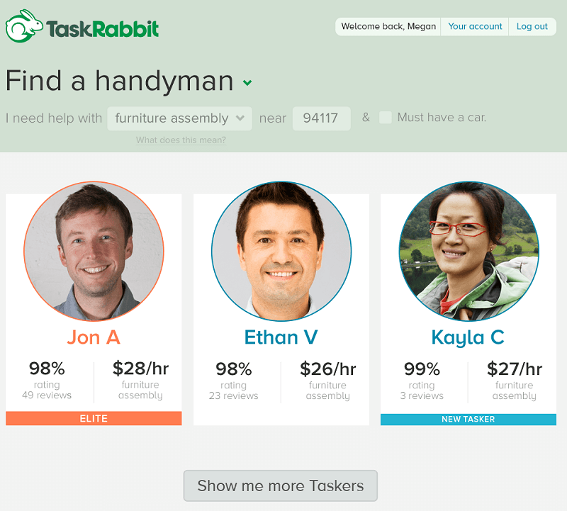 taskrabbit android ios on-demand service