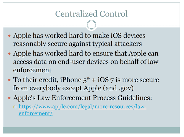 forensic ios apple hacking security spying law enforcement hacker back door