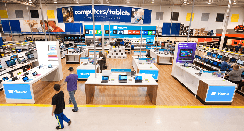 microsoft, windows, pcs, tablet, best buy, microsoft surface, hubert joly