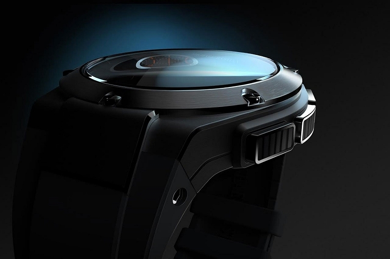 hp, watch, smartwatch, gilt, michael bastian
