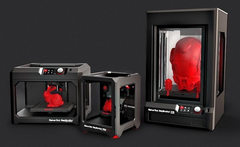 europe, 3d printing, makerbot, stratasys
