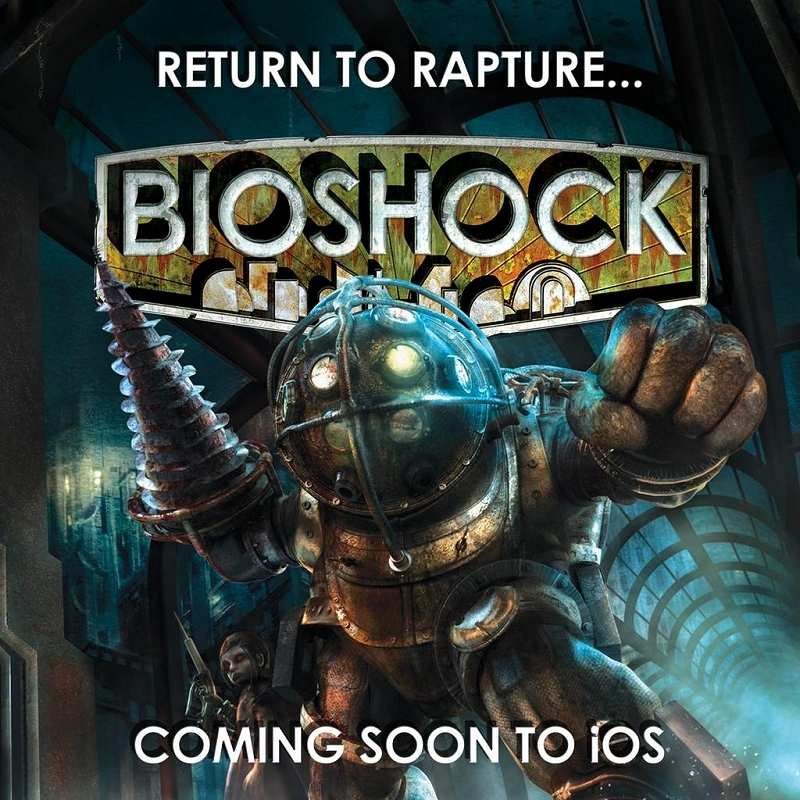 apple, iphone, ipad, ios, bioshock, gaming, 2k games