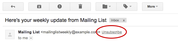 gmail unsubscribing bulk emails easier google email spam messages unsubscribe newsletters