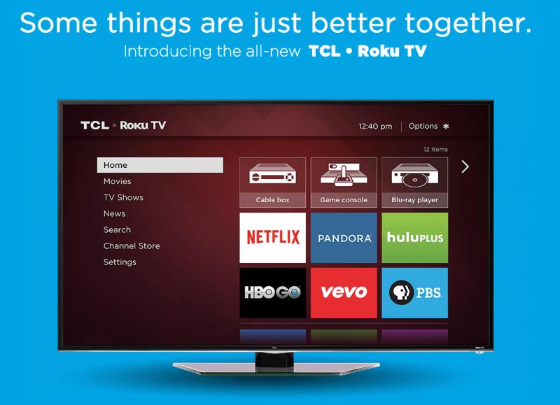 netflix, hulu, ios, roku, smart tv, hbo go, hisense, 720p, tcl