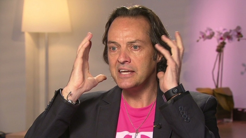 t-mobile, sprint, verizon, att, wireless carrier, uncarrier, john legere