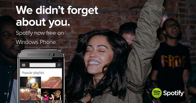 microsoft, spotify, windows phone, music, smartphone, windows phone 8, streaming music
