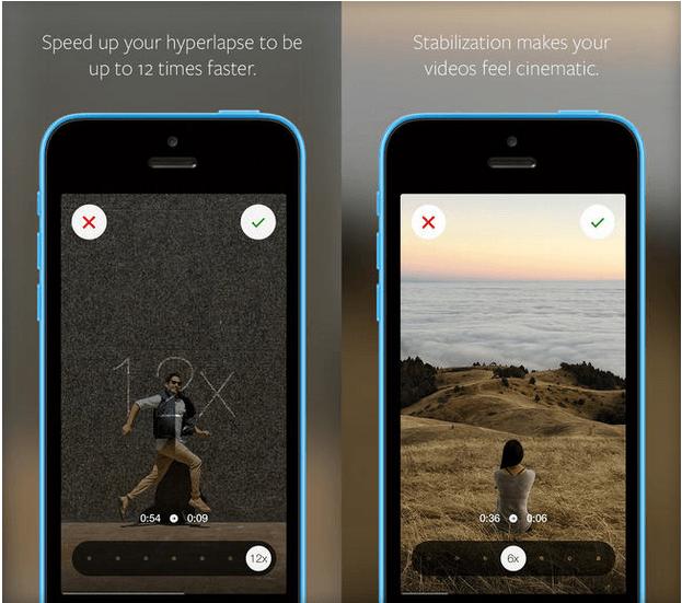 instagram hyperlapse video mobile application app instagarm time lapse