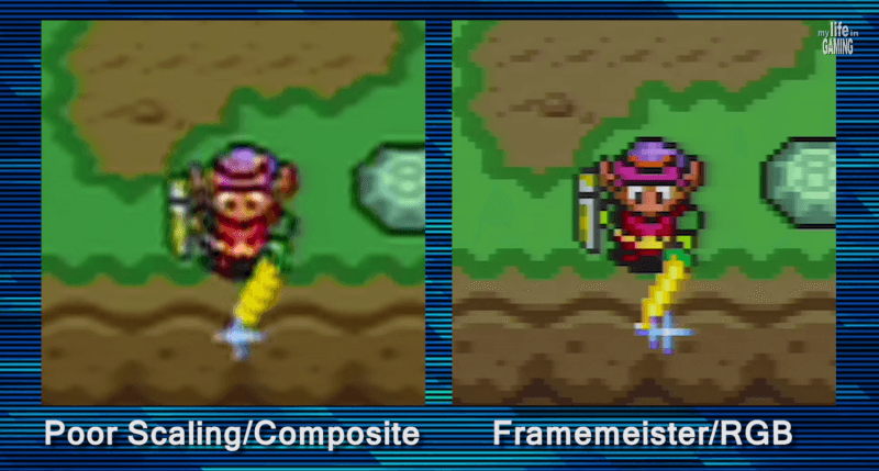nintendo gaming nes found framemeister