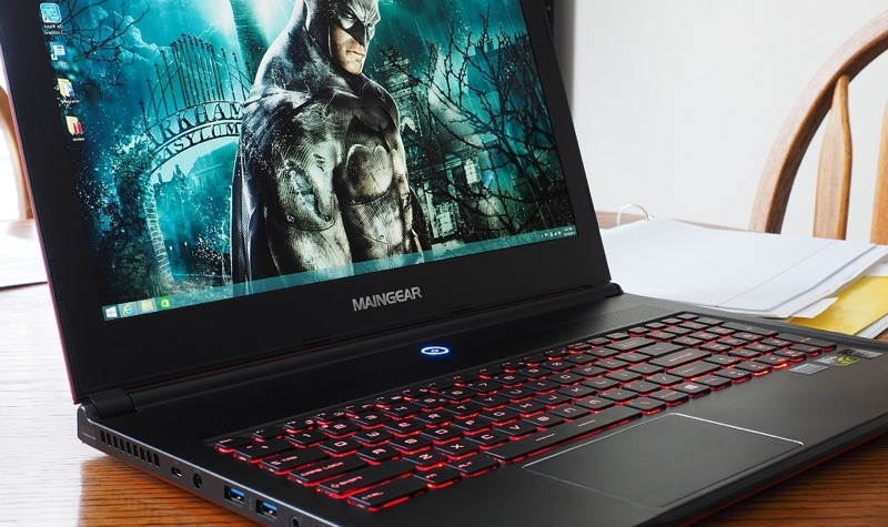 maingear pulse gaming notebook review maingear laptop gaming computer pulse 15