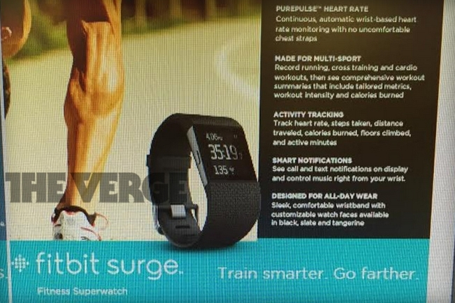 fitbit surge gps smartwatch fitbit fitness tracker surge superwatch