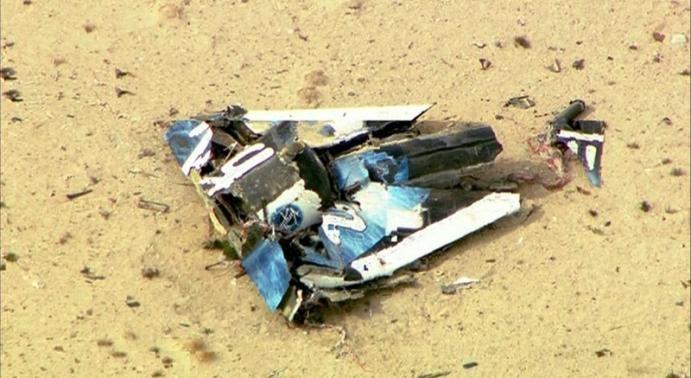 virgin galactic spaceshiptwo crash leaves one dead