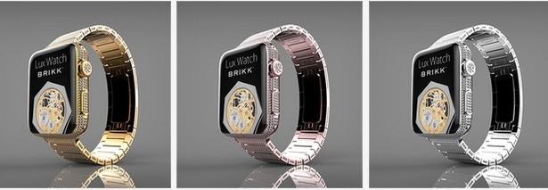 apple watch apple watch gold iphone 6 wristwatch wearable brikk lux watch platinum