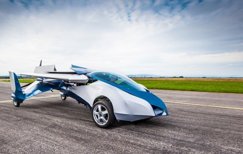 aeromobil flying car autonomous flying car self-flying car