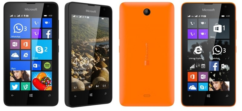 microsoft lumia windows phone microsoft entry-level lumia 430