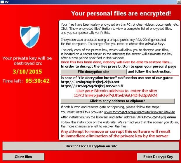 cryptolocker- teslacrypt