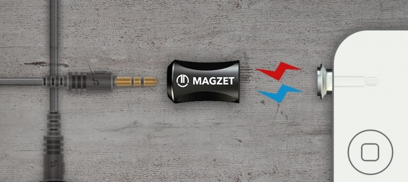 magzet kickstarter magnetic audio headphone