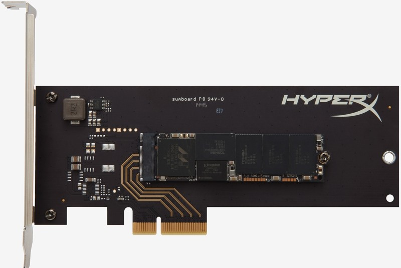 pcie ssd storage ssd kingston hyperx flash memory