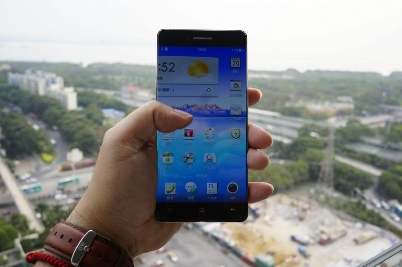 oppo smartphone phone bezel oppo r5 smartphone bezel bezelless