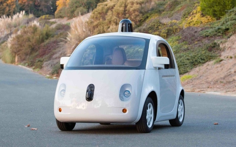 google patent patent application autonomous car driverless car self-driving car airbags